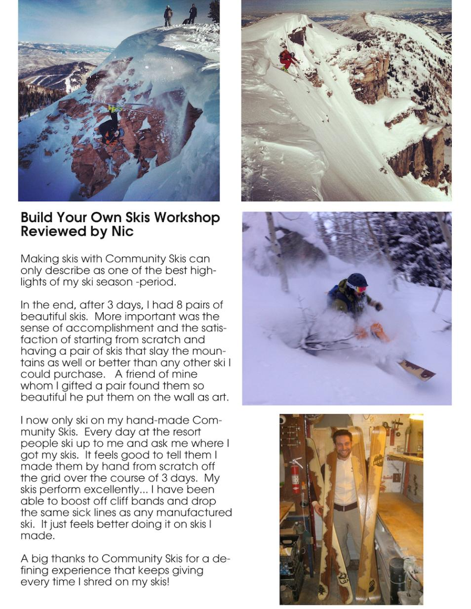 Build Your Own Custom Skis